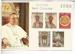 VATICANO SELLOS USADOS CANCELLED STAMPS MARTIRIO SAN PEDRO Y SAN PABLO - Cristianismo