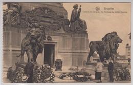 Bruxelles Colonne Du Congres Le Tombeau Du Soldat Inconnu - Monumenti, Edifici