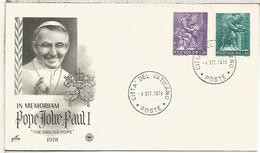 VATICANO EN MEMORIA DEL PAPA JUAN PABLO II 1978 RELIGION POPE - Papas
