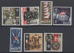 Malta 1965 Beeindigung Der Grossen Belagerung 7v ** Mnh (42796F) - Malta