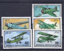 190031603  MONGOLIA   YVERT   Nº  871/5 - Mongolia