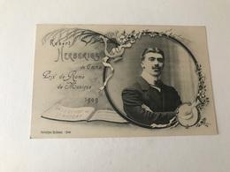 Gent Gand  Robert Herberigs De Gand Prix De Rome De Musique 1909  Heliotypie DE GRAEVE - Gent