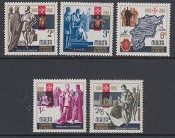 Malta 1966 400J Valletta 5v ** Mnh (42796G) - Malta