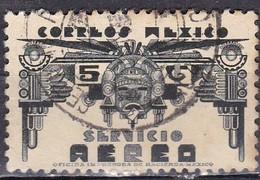 Messico, 1934/35 - 5c Symbols Of Air Service - Nr.C65 Usato° - Messico