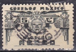 Messico, 1934/35 - 5c Symbols Of Air Service - Nr.C65 Usato° - Mexico
