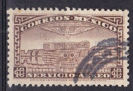 Messico, 1934/35 - 10c Tlaloc, God Of Water - Nr.C66 Usato° - Messico