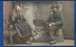 Distraction Des Vieux   Fumeurs         Animées    écrite En 1904 - France