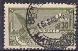 Messico, 1934/35 - 30c Symbolical Of Flight - Nr.C69 Usato° - Mexico