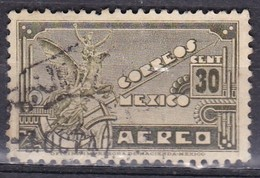 Messico, 1934/35 - 30c Symbolical Of Flight - Nr.C69 Usato° - Messico