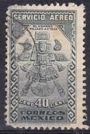 Messico, 1934/35 - 40c Aztec Bird-Man - Nr.C70 Usato° - Mexico
