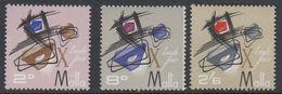 Malta 1966 10. Handelsmesse Malta 3v ** Mnh (42796J) - Malta