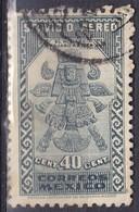 Messico, 1934/35 - 40c Aztec Bird-Man - Nr.C70 Usato° - Messico