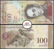 Venezuela   100 Bolivares   2013   P.93h.2   UNC - Venezuela