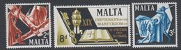 Malta 1967 St. Peter & Paul 3v ** Mnh (42796L) - Malta