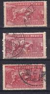 Messico, 1937 - 20c Eagle Man - Nr.C81 C81a C81b Usato° - Messico