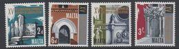 Malta 1967 Architecture 4v ** Mnh (42796N) - Malta