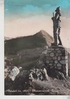 OVINDOLI L'AQUILA MONUMENTO ALL'ALPINO - L'Aquila