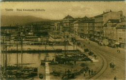 CROATIA - Rijeka / FIUME - RIVA EMANUELE FILIBERTO - EDIZ. SLOCOVICH - 1923 (BG3463) - Croatia