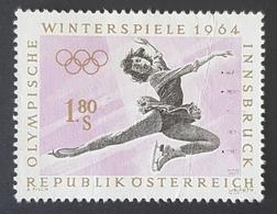 1963 Winter Olympic Games, Innsbruck 1964, Republik Österreich, Austria, Autriche, *,**, Or Used - 1945-.... 2de Republiek