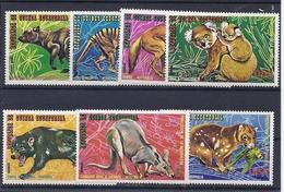 190031609  GUINEA  ECUATORIAL  YVERT   AEREO  Nº  36 +  Nº 51  **/MNH - Guinea Ecuatorial