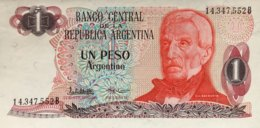 Argentina 1 Peso Argentino, P-311 (1983) - UNC - Argentinien