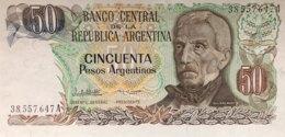 Argentina 50 Pesos Argentino, P-314 (1983) - UNC - Argentinien