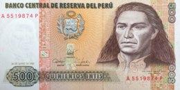 Peru 500 Intis, P-134 (26.6.1987) - UNC - Pérou