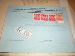 Klenak R Klenak To Novi Sad Uprava Pogona Nasicke Tvornice Tanina I Paropila D D Klenak 1939 - Serbia