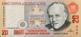 Peru 20 Nuevos Soles, P-158 (16.6.1994) - UNC - Scarce Date - Peru
