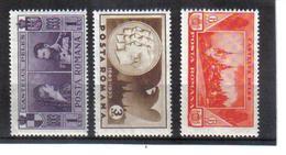 POL1055 RUMÄNIEN 1933 MICHL 462/64 (*) FALZ  SIEHE ABBILDUNG - 1918-1948 Ferdinand, Carol II. & Mihai I.