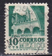 Messico, 1950/52 - 10c Convent - Nr.858 Usato° - Messico