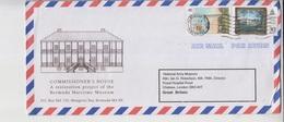 Burmuda Airmail Cover To Pakistan       (A-3220) - Bermuda