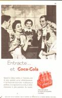 """PUB """" COCA-COLA """" 1950'S ( 4 ) - Affiches Publicitaires"""