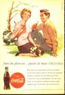 """PUB """" COCA-COLA """" 1950'S ( 9 ) - Manifesti Pubblicitari"""