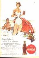 """PUB """" COCA-COLA """" 1950'S ( 10 ) - Manifesti Pubblicitari"""