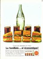 """PUB """" COCA-COLA """" 1960'S ( 11 ) - Affiches Publicitaires"""