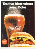 """PUB """" COCA-COLA """" 1960'S ( 12 ) - Affiches Publicitaires"""