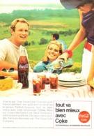 """PUB """" COCA-COLA """" 1960'S ( 13 ) - Manifesti Pubblicitari"""