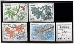 D - [835898]TB//**/Mnh-c:6e-Monaco  - PRE66/69, Quatre Saison Du Maronnier, Nature, Végétaux, Arbres - Monaco