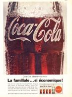 """PUB """" COCA-COLA """" 1960'S ( 14 ) - Manifesti Pubblicitari"""