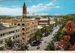 ETHIOPIA - Asmara 1968 - Haile Selassie I Avenue - State Visit Of Reza Pahlavi Stamp - Emperor Of Iran - Ethiopia
