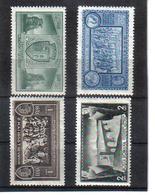 POL1056 RUMÄNIEN 1933 MICHL 458/61 (*) FALZ  SIEHE ABBILDUNG - 1918-1948 Ferdinand, Carol II. & Mihai I.