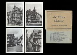 Le Vieux Colmar, 10 Photos Artistiques, Fotomäppchen, Reisesammelbilder, Format 8,8 X 6,4cm, Echt Foto, - Orte