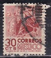 Messico, 1950/52 - 30c Indian Dancer - Nr.861 Usato° - Mexico