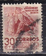 Messico, 1950/52 - 30c Indian Dancer - Nr.861 Usato° - Messico