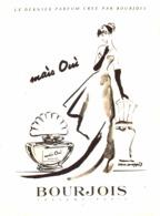 """PUB PARFUM """" MAIS OUI  """" De  """" BOURJOIS  """"   1940'S ( 10 ) - Other"""