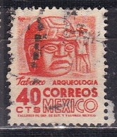 Messico, 1950/52 - 40c Stone Head - Nr.862 Usato° - Messico