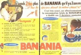 """PUB """" BANANIA """" 1950'S ( 5 ) - Manifesti Pubblicitari"""