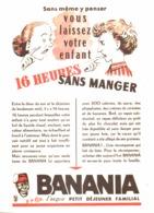 """PUB """" BANANIA """" 1950'S ( 6 ) - Affiches Publicitaires"""