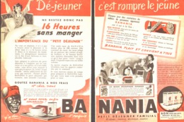 """PUB """" BANANIA """" 1950'S ( 7 ) - Advertising Posters"""